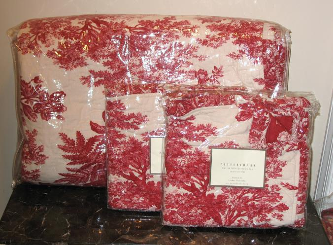 Pottery Barn Toile Bedding New Pottery Barn Matine Toile