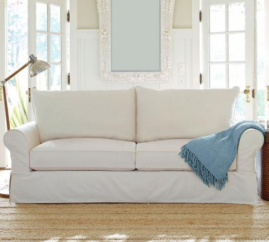 most comfortable pottery barn sofa